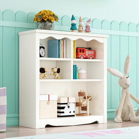 White Classic Wooden Cabinet-97CM