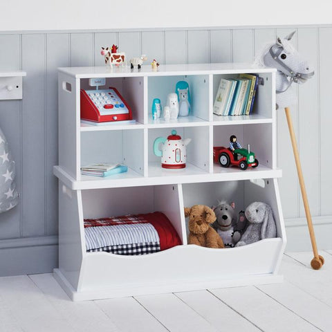 Double Stacking Storage Trunk-Bright White
