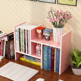 Extension Table Organizer Books Shelf