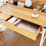 Wooden Study Desk With Drawers