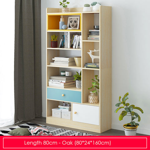 Modern Storage Display Bookshelf-Length 80cm