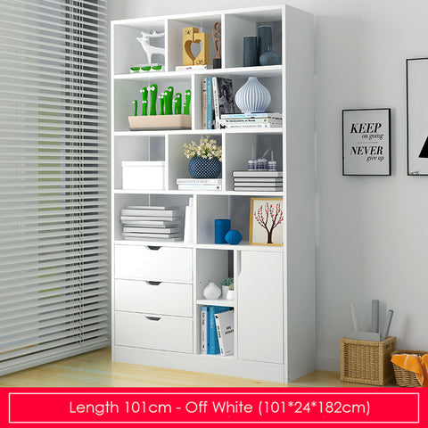 Modern Storage Display Bookshelf-Length 101cm