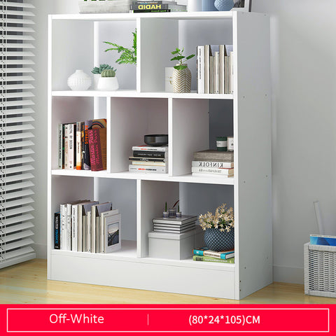 Multi-Purpose Wooden Book Shelf - Length 80cm