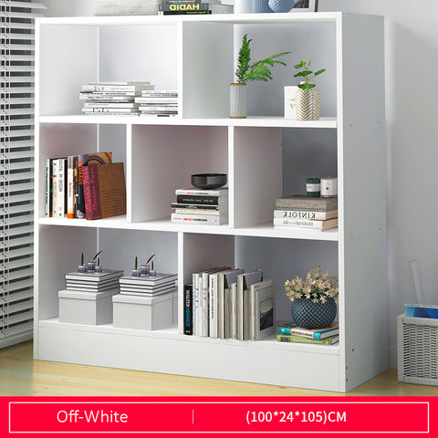 Multi-Purpose Wooden Book Shelf -  Length 100cm