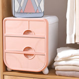 Undergarment Storage Box Organizer Side Table