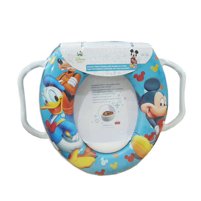Cushion Baby Potty Seat With Handle - Mickey Mouse 2