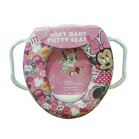 Cushion Baby Potty Seat With Handle - Minnie mouse 2