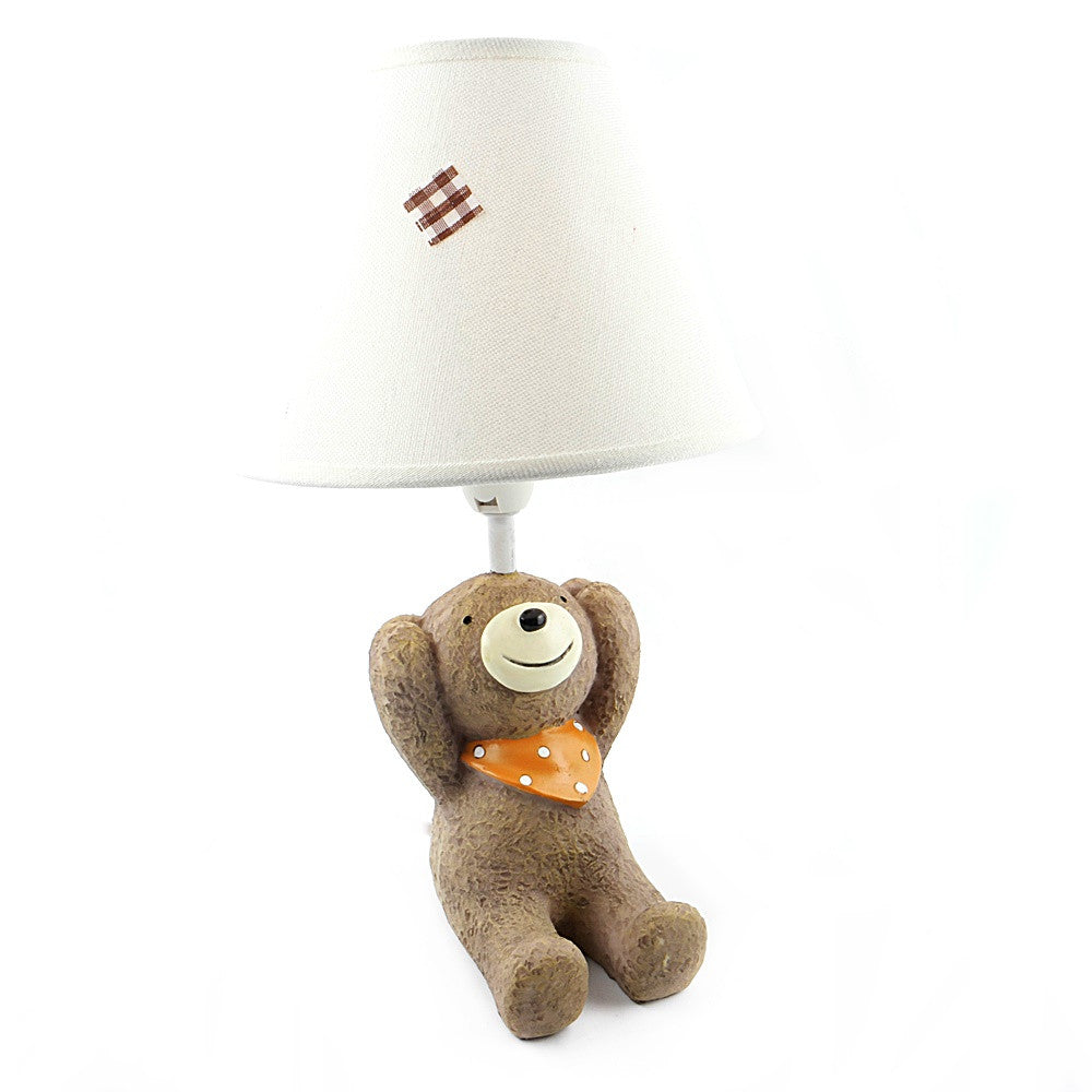 Bear Covering Ears Lamp
