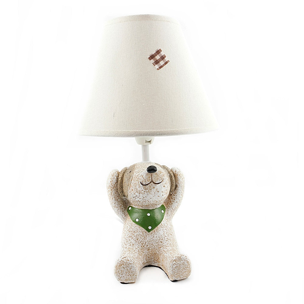 Dog Covering Ears Lamp