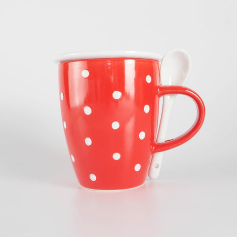 Polka Dot Cup with Gift Box