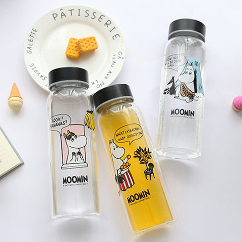 Moomin Glass Bottle