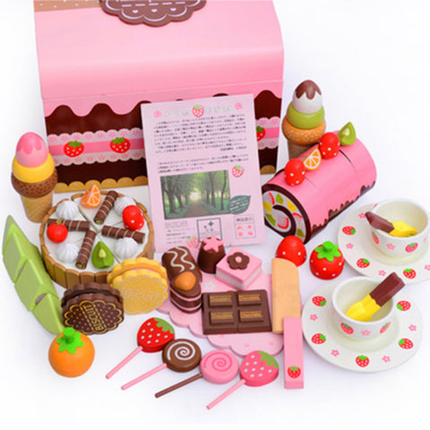 Mother Garden Strawberry Chocolate Party Set