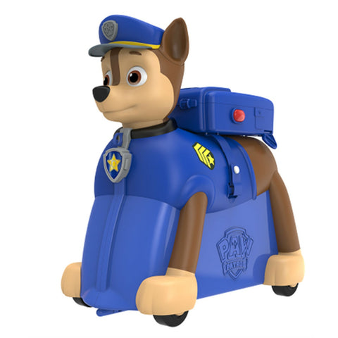 Paw Patrol Ride on Suitcase - Chase