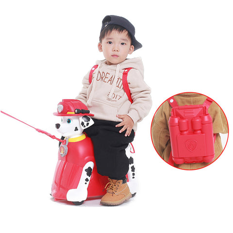 Paw Patrol Ride on Suitcase - Marshall