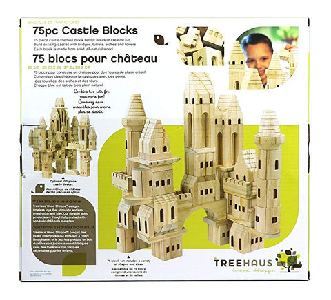 Treehaus 75pc Castle Blocks