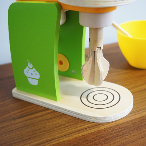 Wooden Kitchen Toy  Stand Mixer
