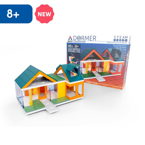 Mini Dormer Colours 2.0, 80 piece Architectural Model Kit