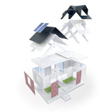 Mini Dormer 2.0, 80 piece Architectural Model Kit