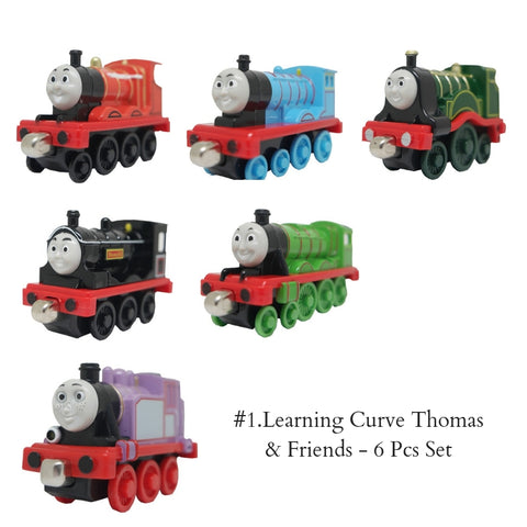 #1.Learning Curve Thomas & Friends - 6 Pcs Set