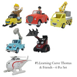 #5.Learning Curve Thomas & Friends - 6 Pcs Set