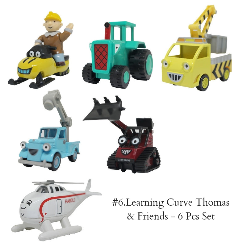 #6.Learning Curve Thomas & Friends - 6 Pcs Set