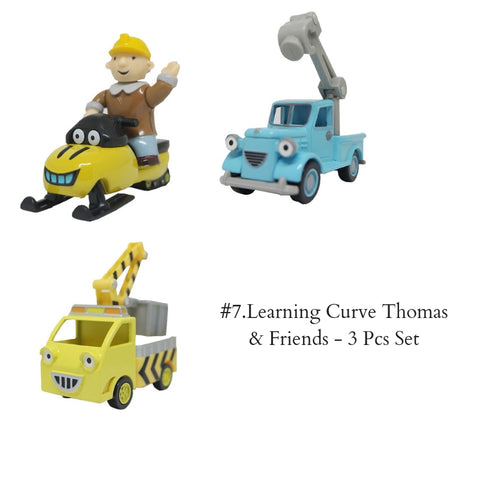 #7.Learning Curve Thomas & Friends - 3 Pcs Set