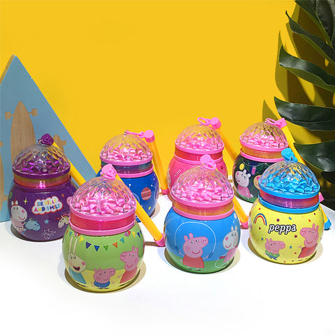 Cartoon Mid-Autumn Festival LED Lantern With Light Projector