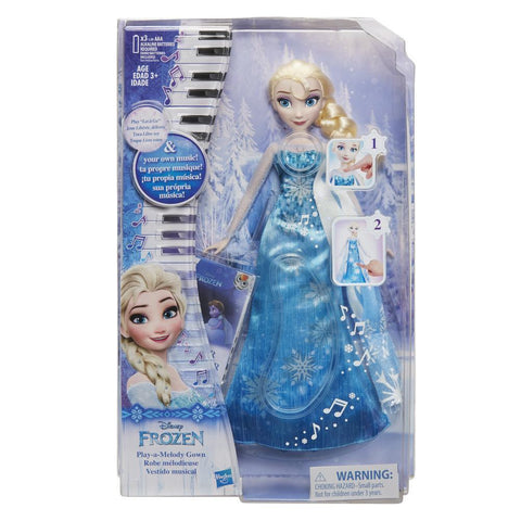 Disney Frozen Play-A-Melody Gown