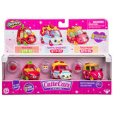 Shopkins Cutie Cars Moto Italiano Collection 3-Pack
