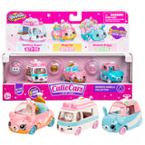 Shopkins Cutie Cars Wedding Wheels Collection 3-Pack