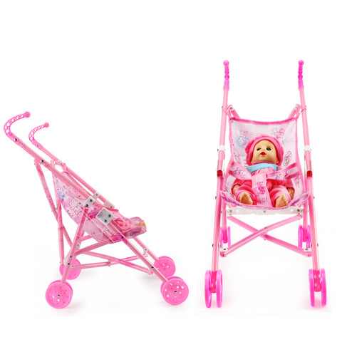 Baby Doll Fold Up Stroller Toy