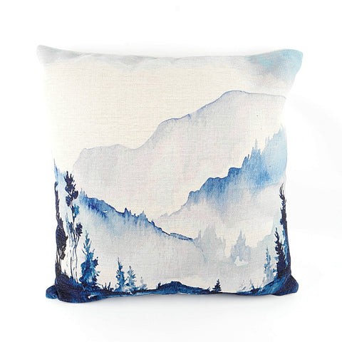 Over the Mountains Cushion