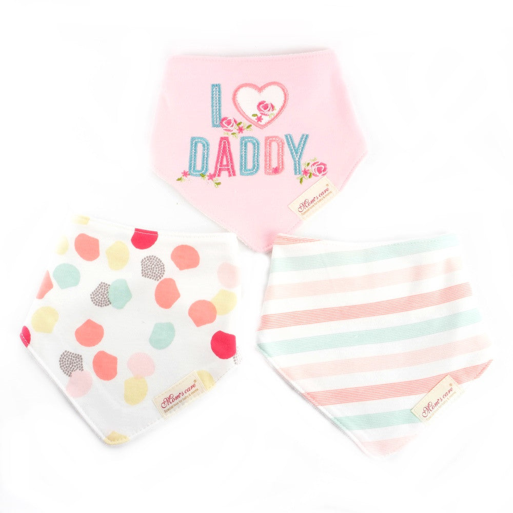 Pinky I Love Daddy Bib Set of 3