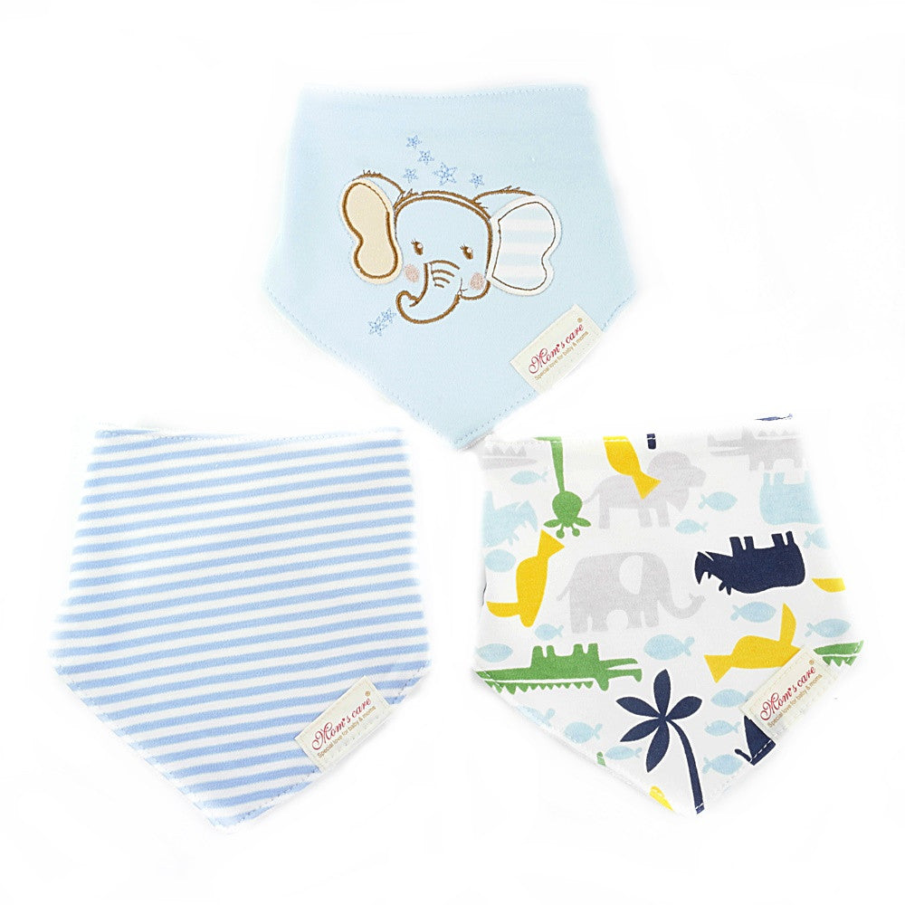 Cute Dumbo Bib Set of 3