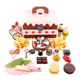 Mother Garden-Strawberry and Chocolate Party Toy Set