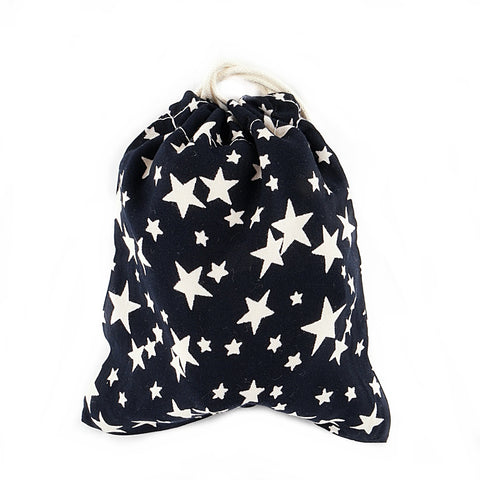 Starry Cotton Pouch