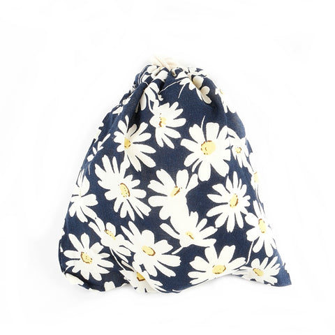 Daisy Cotton Pouch
