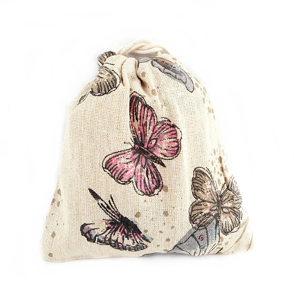 Butterfly Canvas Pouch