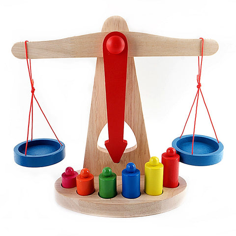 Balance Scales Weighing Baby Education Toys