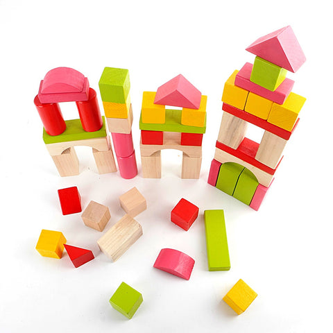 Early Learning Wooden Bricks Toy