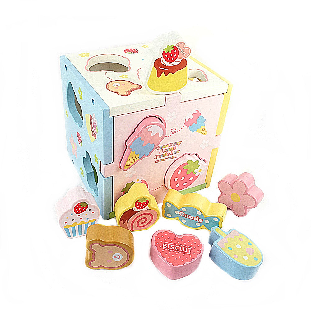 Mother Garden Strawberry Sweets Puzzle Box