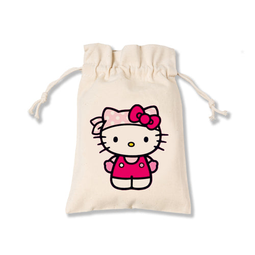Hello Kitty Canvas Pouch