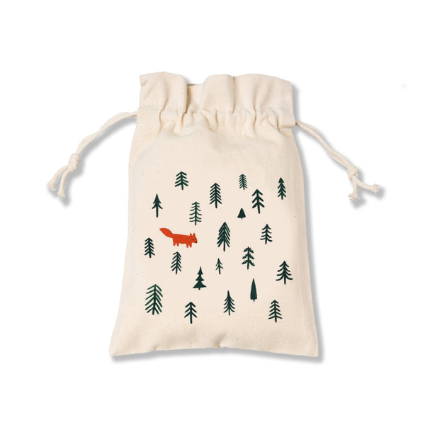 Forest Canvas Pouch