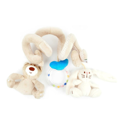 Mamas & Papas ear and Bunny Spiral  Toy