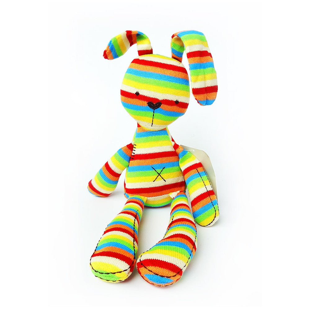 Mamas & Papas Rainbow Bunny Plush Toy
