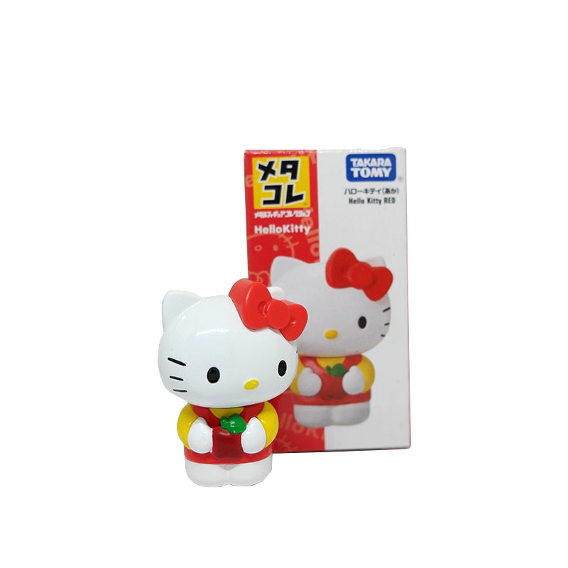 Tomy Takara Metacolle Metal Figure Collection Sanrio Hello Kitty Red