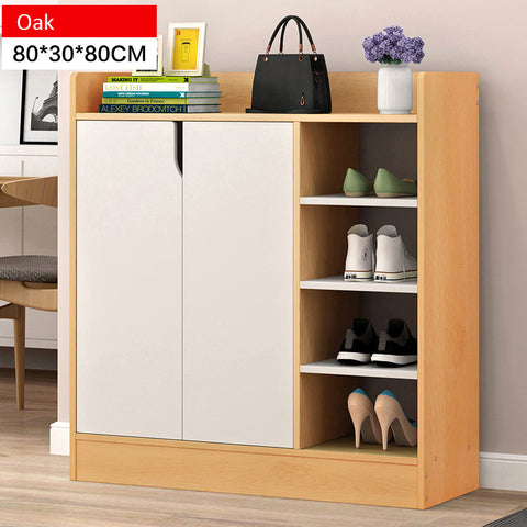 Modern Style Wooden Shoe Cabinet Design A (2 Colors)