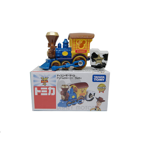 Takara Tomy Tomica Disney Motors Toy Story 4 Dream Journey Woody