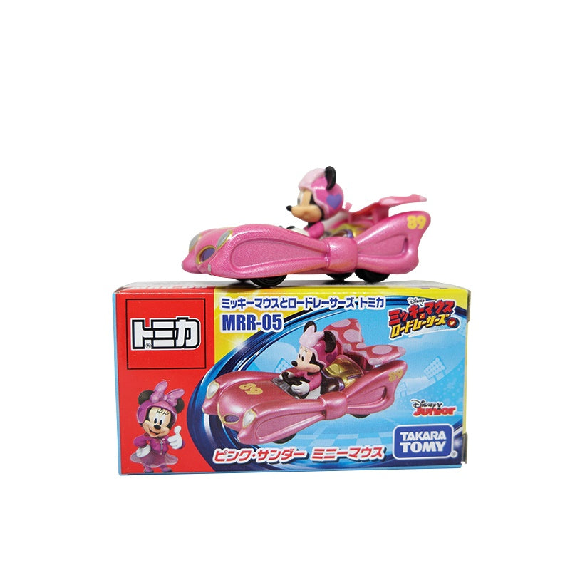 Takara Tomy Tomica MRR-5 Mickey & Road Racers Pink Thunder Minnie Mouse
