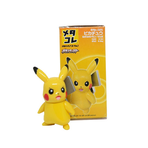 Tomy Takara Tomica Metacolle Metal Figure Collection Pokemon Pikachu